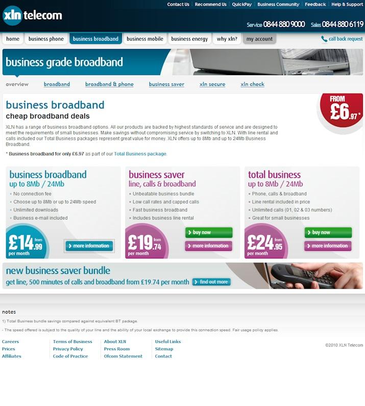 XLN Telecom Ltd